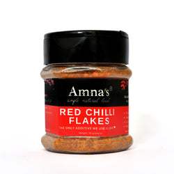 Crushed Organic Red Chillies Flakes | All-Natural - Amna's Naturals & Organics - Pakistan Lahore