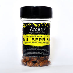 Dried Mulberries | White | Zero Sugar - Amna's Naturals & Organics - Pakistan Lahore