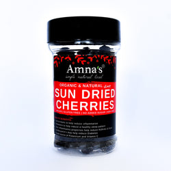 Sun Dried Cherries | Zero Added Sugar - Amna's Naturals & Organics - Pakistan Lahore