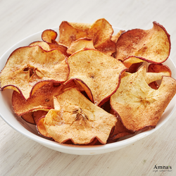 Apple Chips | Crispy Baked - Amna's Naturals & Organics - Pakistan Lahore