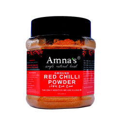 Organic Red Chillies (Powder) | All-Natural - Amna's Naturals & Organics - Pakistan Lahore