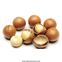 Macadamia Nuts | Dry Roasted | In Shell - Amna's Naturals & Organics - Pakistan Lahore