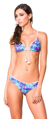 Women's Fashion Swimwear -- Dulzamara Beachwear Women's Bikini Set Marmara  -- Modern/Fitted -- Multicolor
