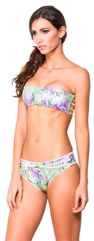 Women's Fashion Swimwear -- Dulzamara Beachwear Women's Bikini Set Kara  -- Modern/Fitted -- Multicolor