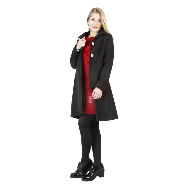 Fontana 2.0 - ESMERALDA Clothing Coats Fontana 2.0 black 42
