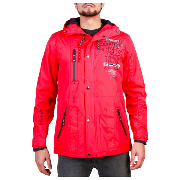 Geographical Norway - Clement_man Clothing Jackets Geographical Norway red M