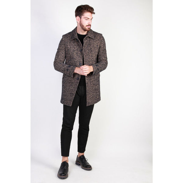 Made in Italia - ADOLFO Clothing Coats Made in Italia brown 48