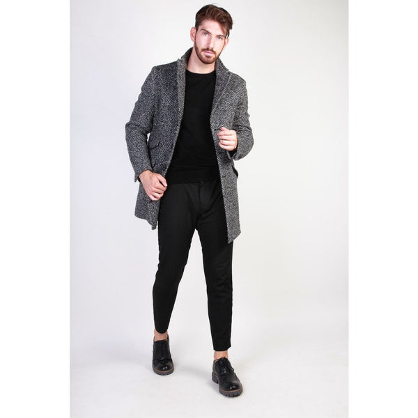 Made in Italia - AMERIGO Clothing Coats Made in Italia black 48