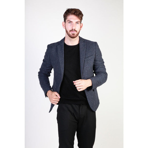 Made in Italia - VIRGILIO Clothing Formal jacket Made in Italia blue 48