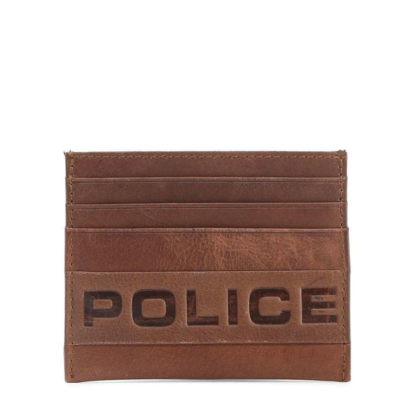 Police - PT288257 Accessories Wallets Police brown NOSIZE