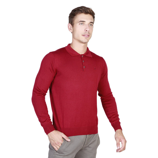 Trussardi - 32M34INT Clothing Polo Trussardi red L