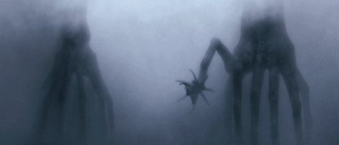 Aliens from Arrival (comparable visibility to Scuba Diving near Powell River)