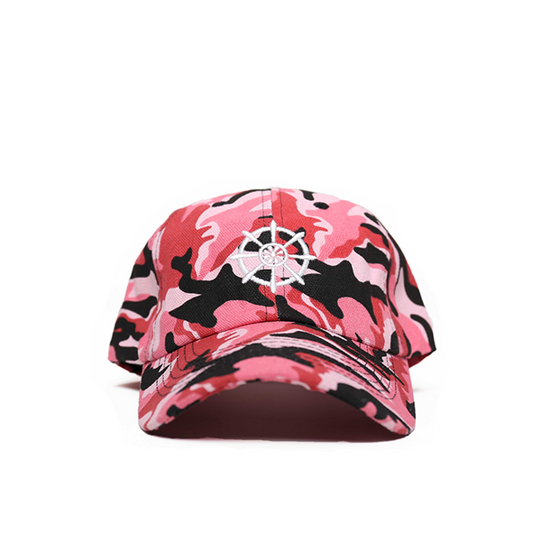 Pink Camo Buddha Wheel Hat