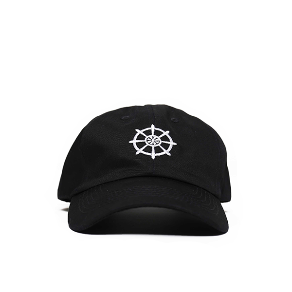 Black Buddha Wheel Hat