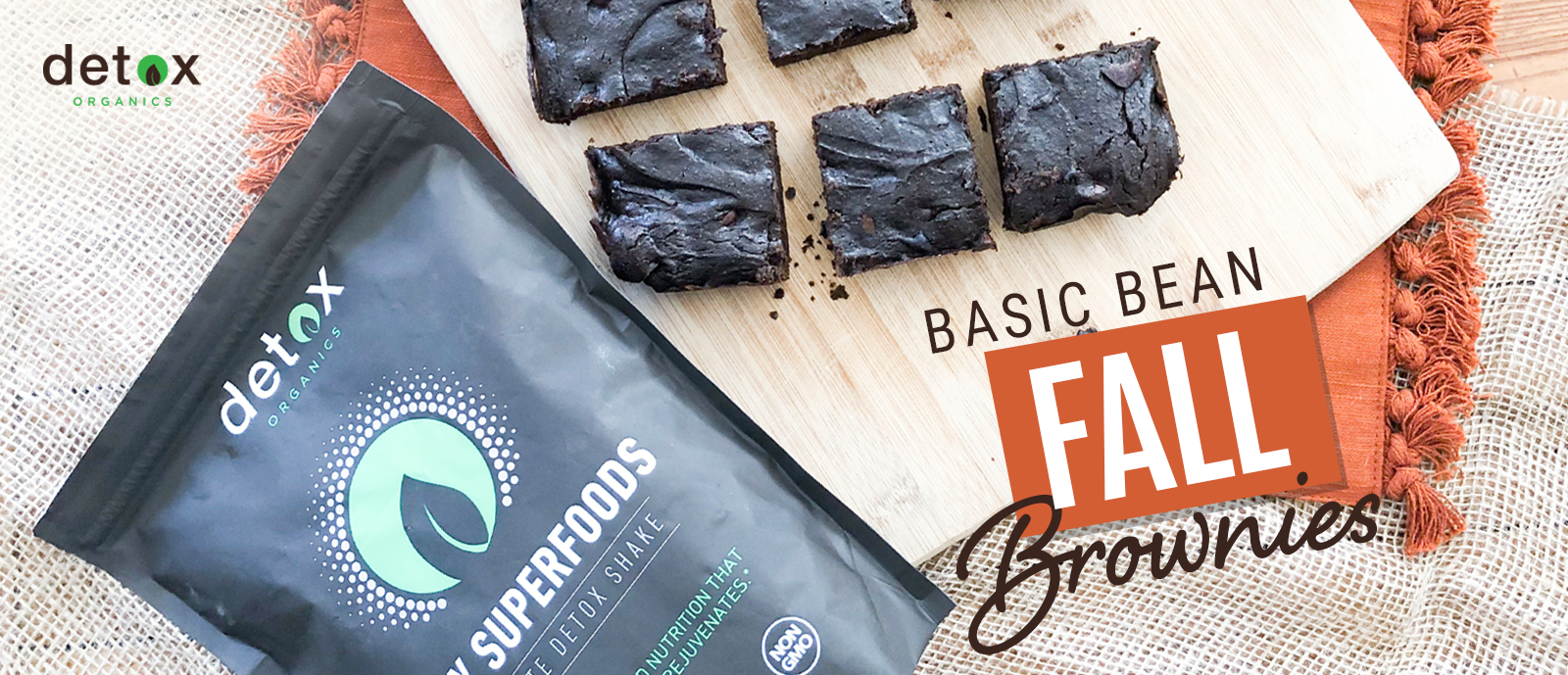 Basic Bean Fall Brownies