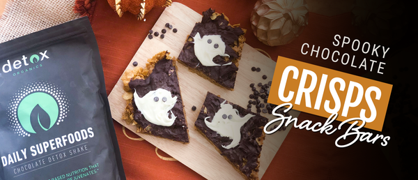 Spooky Chocolate Crisps Snack Bars
