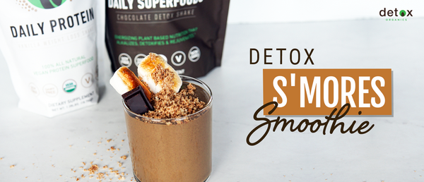 Detox S'mores Smoothie