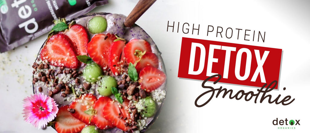 High Protein Detox Smoothie