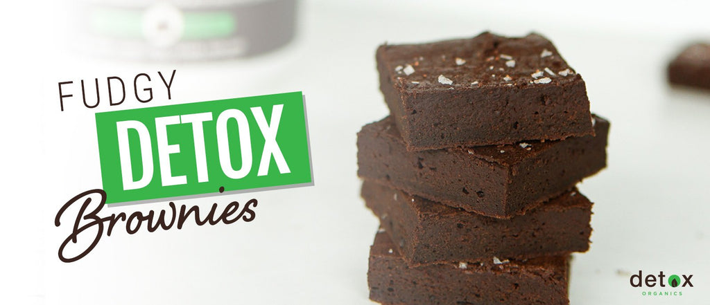 Fudgy Detox Brownies