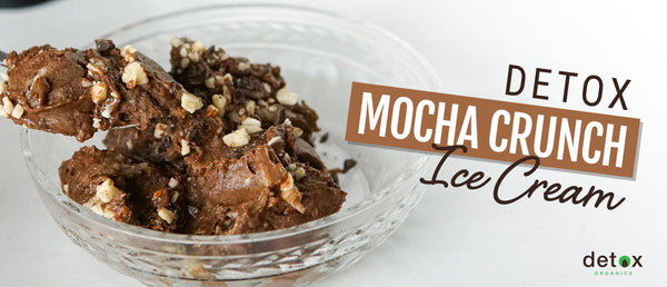 Detox Mocha Crunch Ice Cream