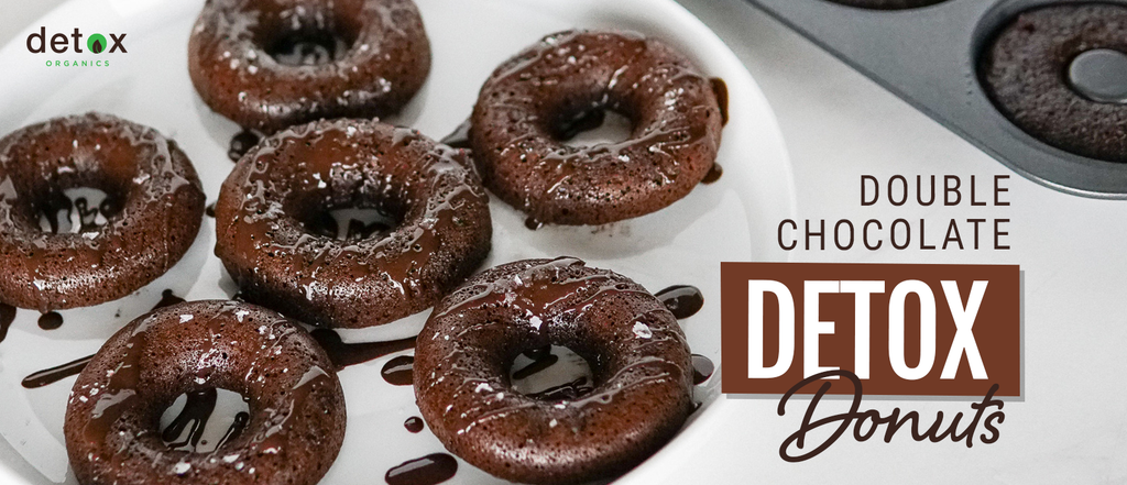 Double Chocolate Detox Donuts