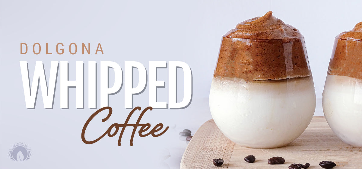 Dalgona Whipped Coffee