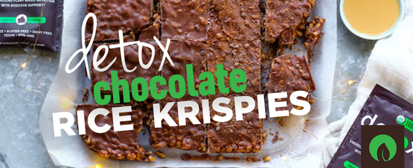 Detox Chocolate Rice Krispies