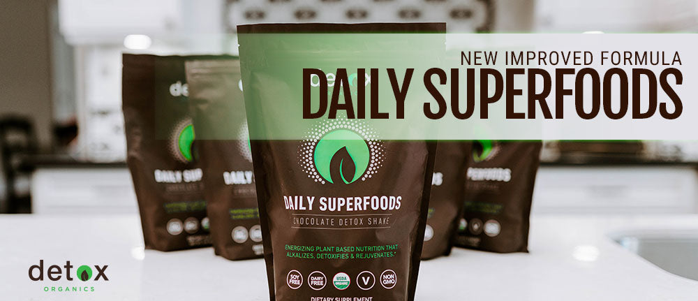 New Improved Daily Superfoods Formula