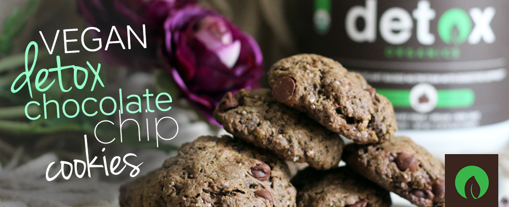 Vegan Detox Chocolate Chip Cookies