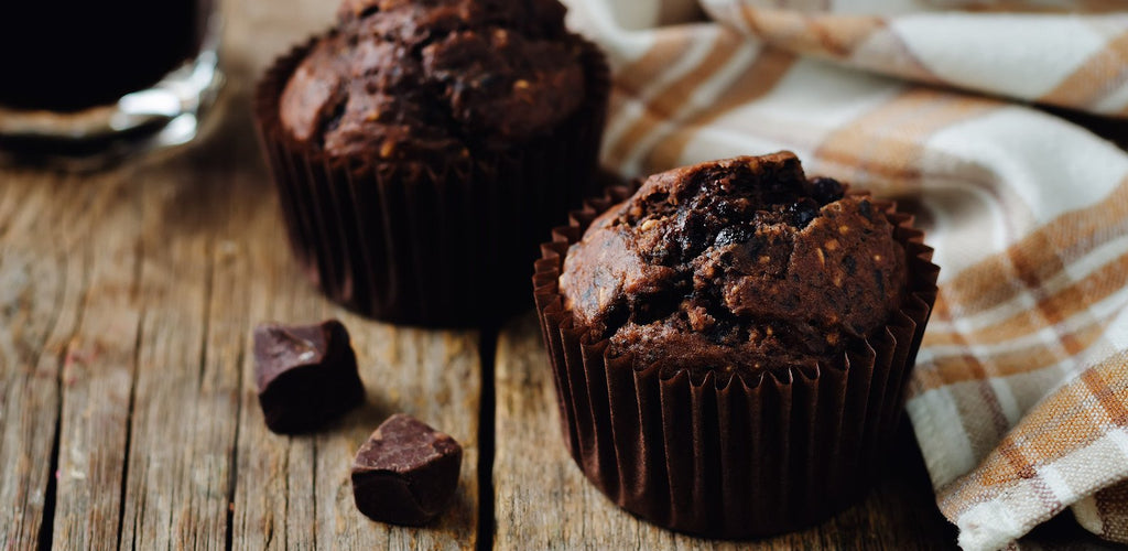 Detox 🌱 Chocolate 🍫  Sweet Potato 🍠  Muffins