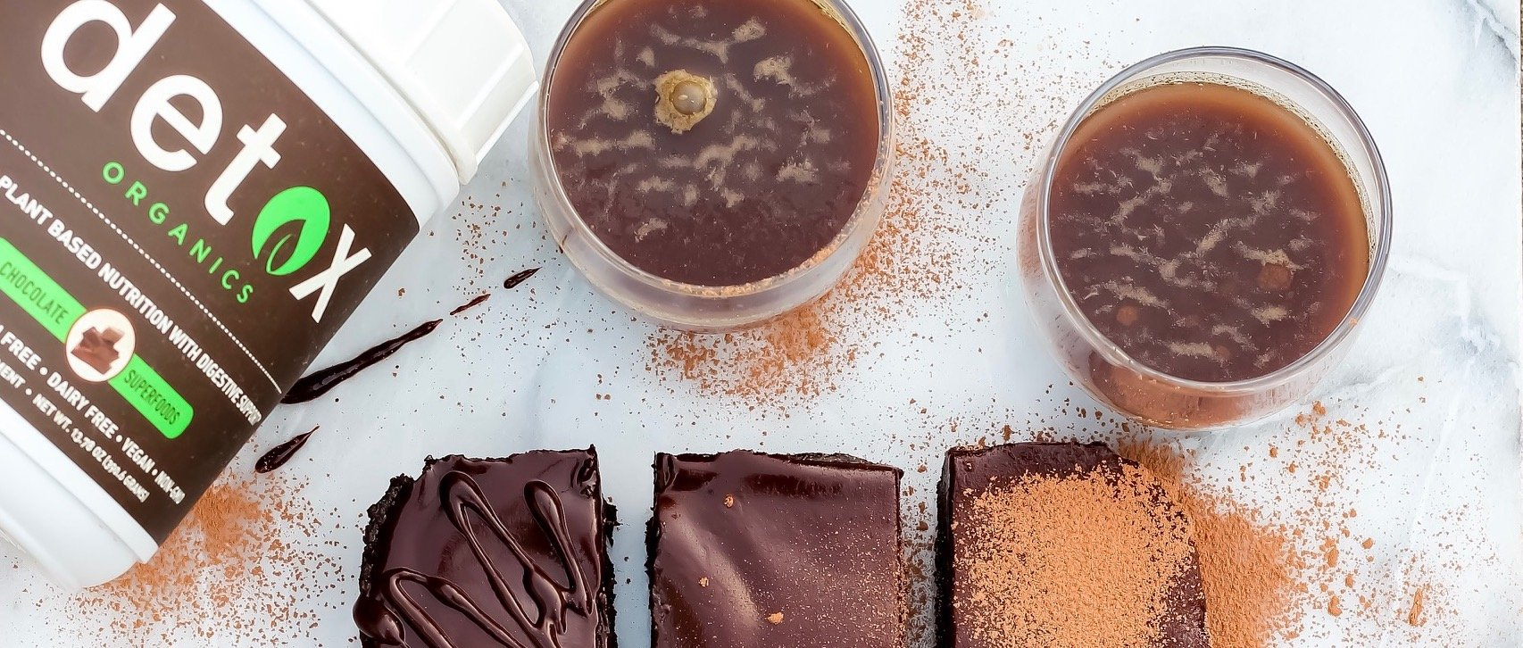 Raw Detox Brownies