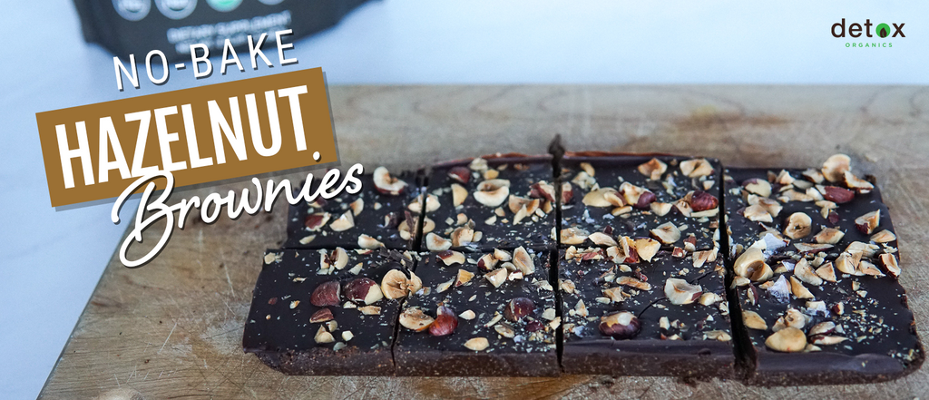 No Bake Hazelnut Brownies