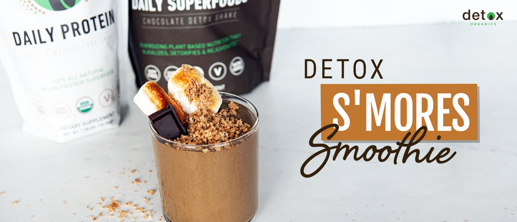 Detox S'mores Smoothie Header Image