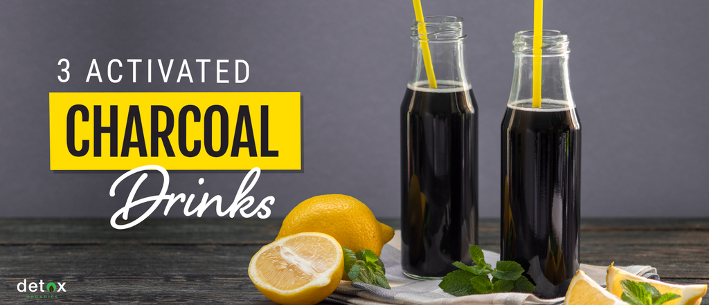 Activated Charcoal Drinks