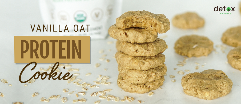 Vanilla Oatmeal Protein Cookie Header