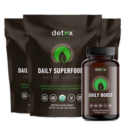 Daily Superfoods 3-Pack + FREE Daily Boost