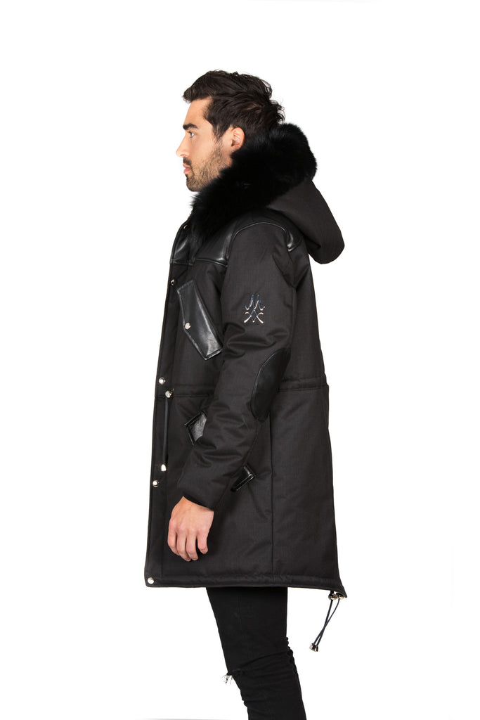 COPENHAGEN BLACK PARKA MEN