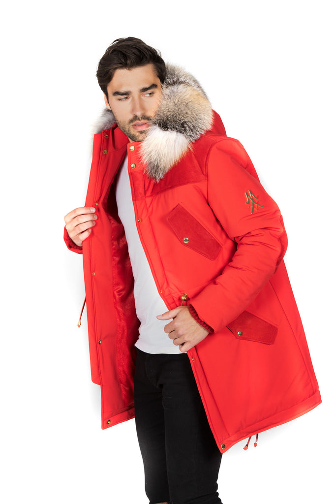 COPENHAGEN RED PARKA MEN