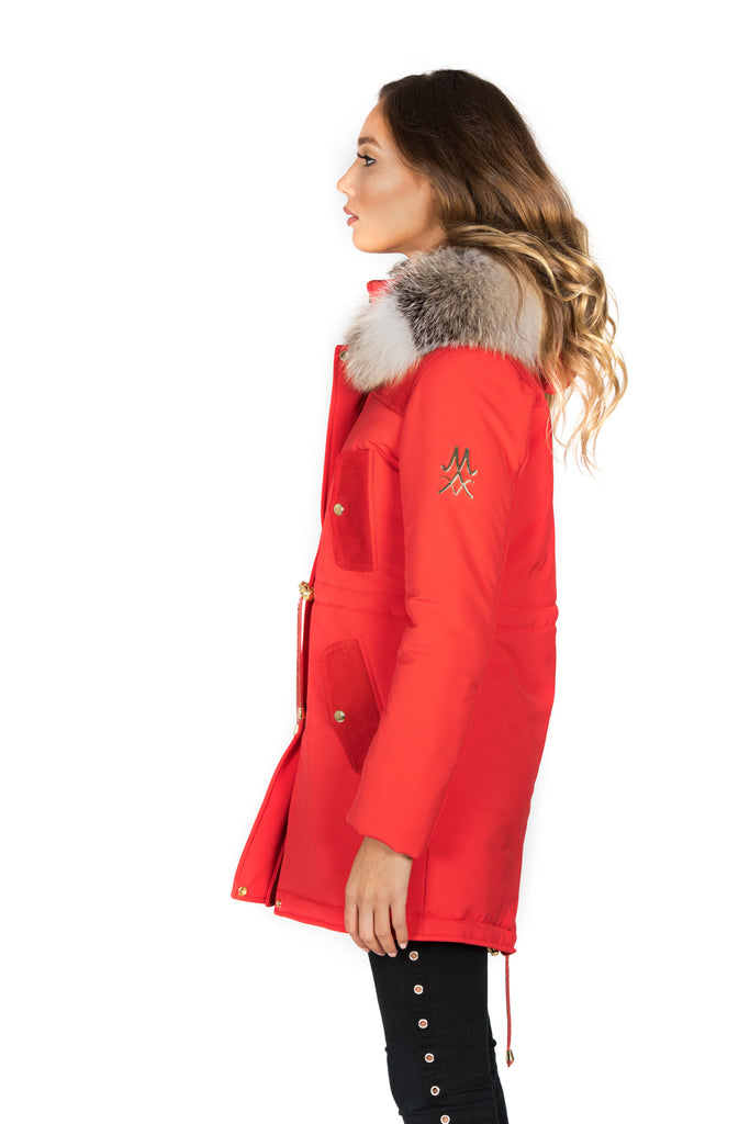 COPENHAGEN RED PARKA WOMEN
