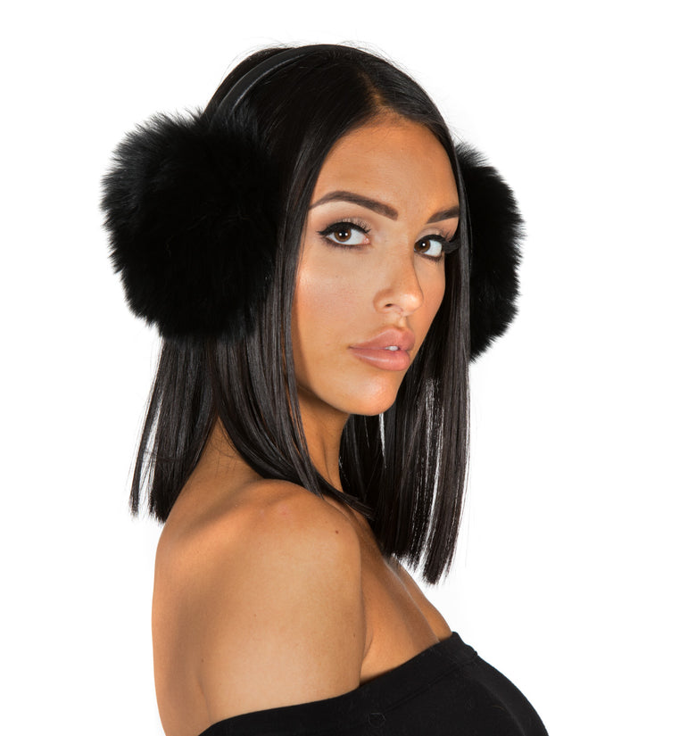 Fox Fur Ear Muffs