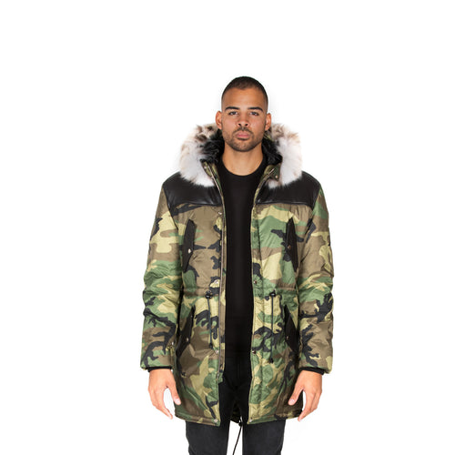 COPENHAGEN ARMY PARKA MEN