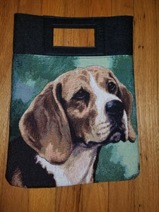 Beagle Hound Dog Handbag Purse Computer Bag