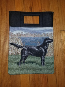 Flat-coated Retriever Dog Purse Computer Bag