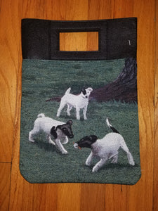 Smooth Fox Terrier Dog Purse Computer Bag
