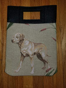 Yellow Labrador Retriever Dog Purse Computer Bag