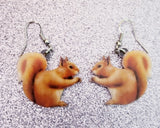 Squirrel Lightweight Earrings Jewelry