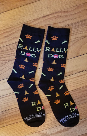 AKC Rally Obedience Dog Socks