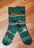 Border Terrier and Fox Dog Socks