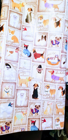 Gift Wrap your purchase for everyday gifts, or a special birthday Multi Breed Design