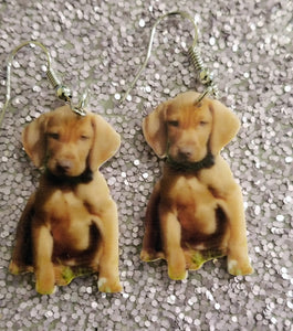 Vizsla Hunting Dog Lightweight Earrings